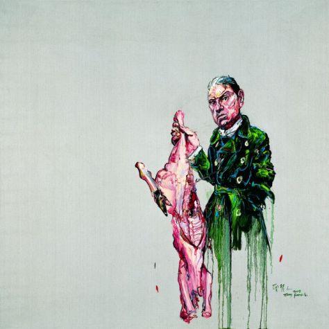 9.Zeng-Fanzhi-Bacon-and-Meat